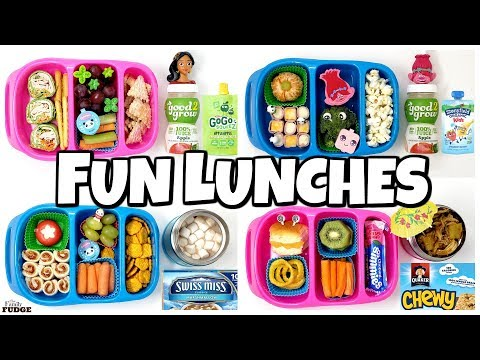 NEW LUNCH BOXES! 🍎 NEW Fun Lunch Ideas