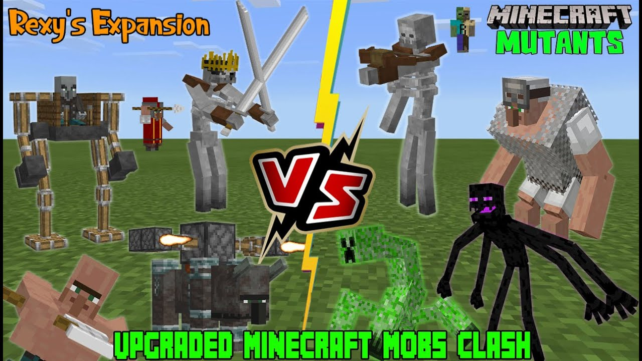 Charged Mutant Creeper Vs. Twilight Forest Mobs in Minecraft