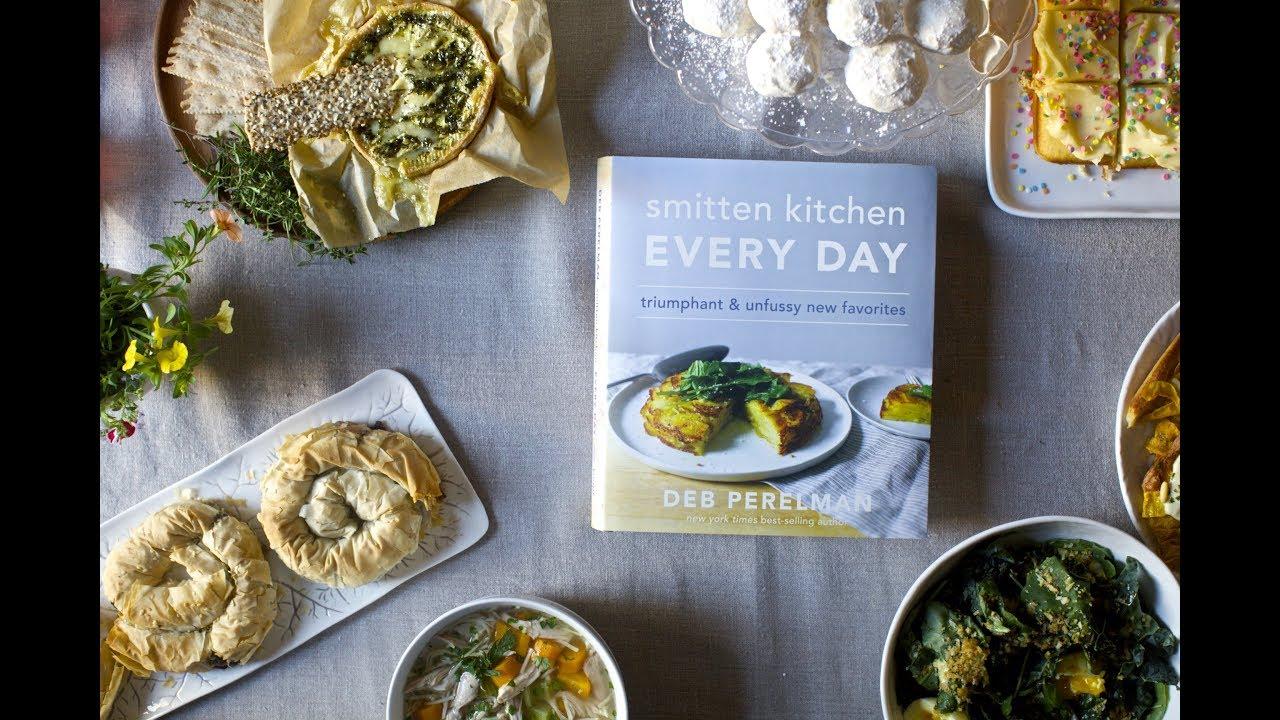 Smitten Kitchen Cookbook smitten kitchen every day cookbook trailer - youtube