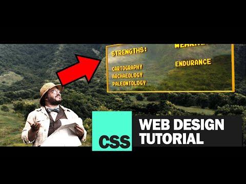 "Pure CSS ""JUMANJI"" Stats Windows Tutorial thumbnail"