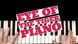 Eye of the Tiger Piano Cover