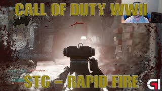 *STG - RAPID FIRE* | BEST GUN/SETUP | CALL OF DUTY WWII