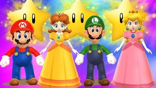 Mario Party 9 - All Characters - Free Play