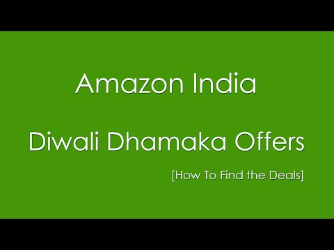Amazon India Diwali Dhamaka - 7 Days of Best Offers Ever
