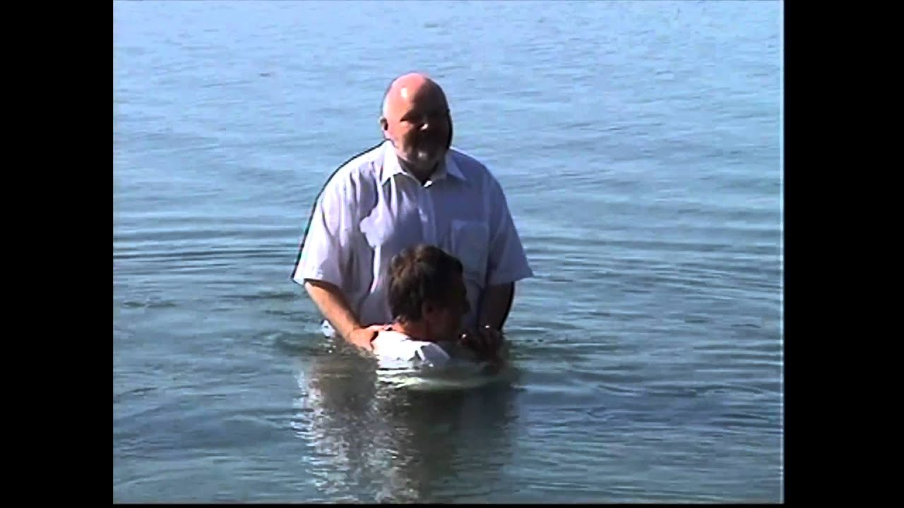 Erwachsenen Taufe