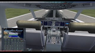 Microsoft Flight Simulator X - FMS( альтернатива PMDG) полный цикл