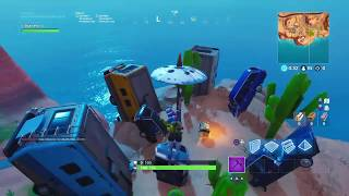 (FORTNITE)-Danse devant la couronne de trailers etc... /Mission de col de bataille/