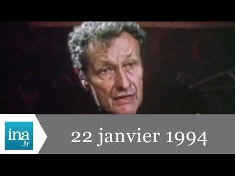 20h France 2 du 22 janvier 1994  Mort de JeanLouis Barrault  Archive INA