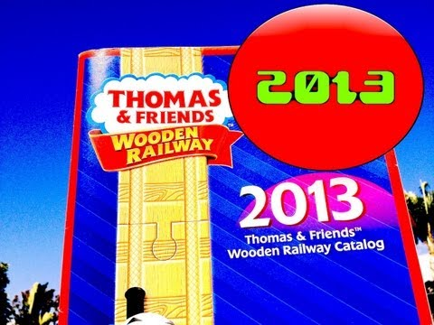 2013 Thomas Wooden Railway Items - Every Release Shown - Fisher Price Toy Trains By Mattel