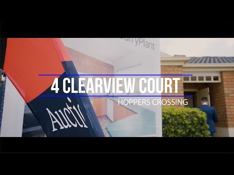 Stan Buzza Auction Profile: 4 Clearview Court, Hoppers Crossing