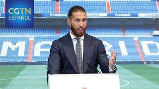 Ramos se despide del Real Madrid tras vestir la camiseta blanca 16 temporadas