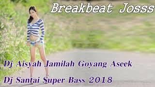 Dj Aisyah Jamilah Goyang Aseek - Dj Santai Super Bass 2018