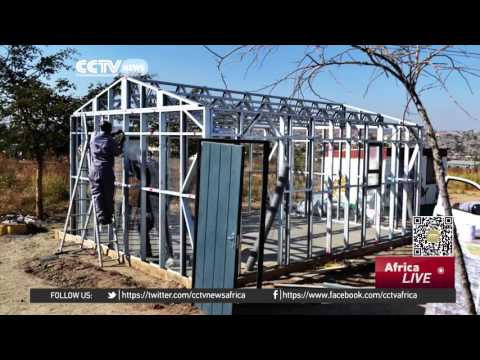 Schools made from recycled bottles in South Africa