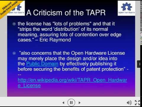 Why Open Source Software/Open Hardware?