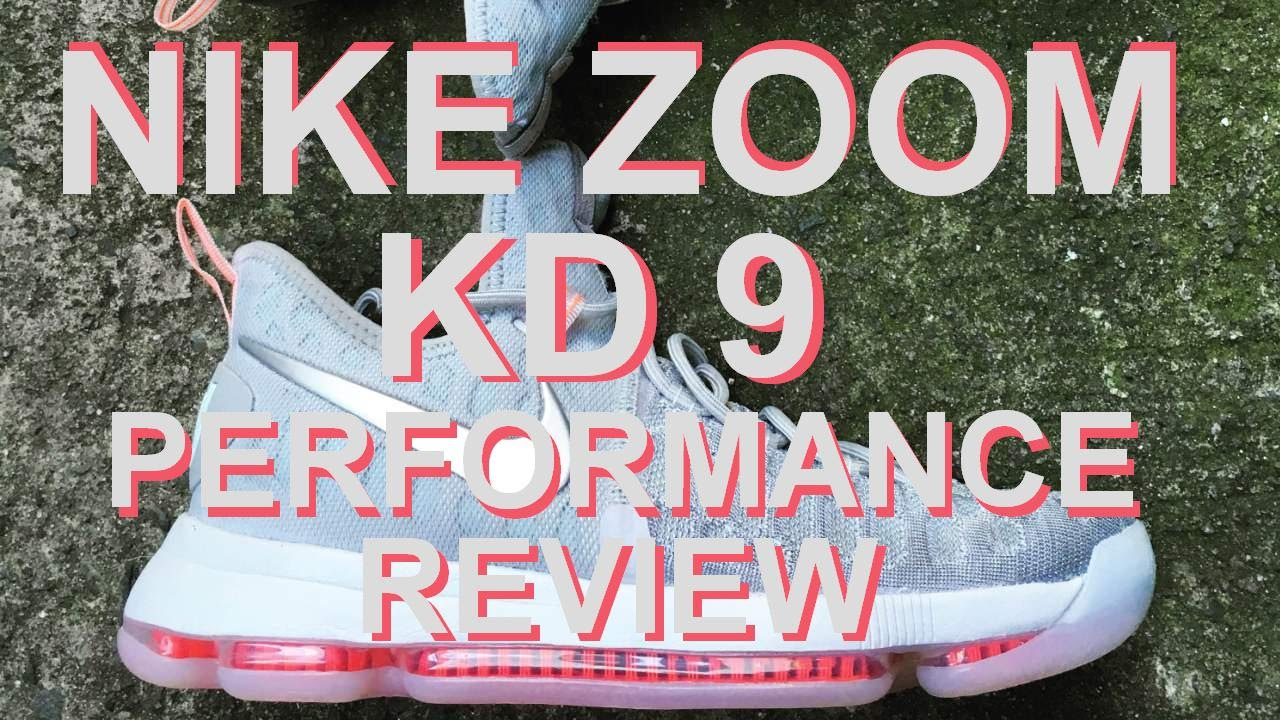 3ff530871f4 NIKE ZOOM KD 9 Performance Review - YouTube