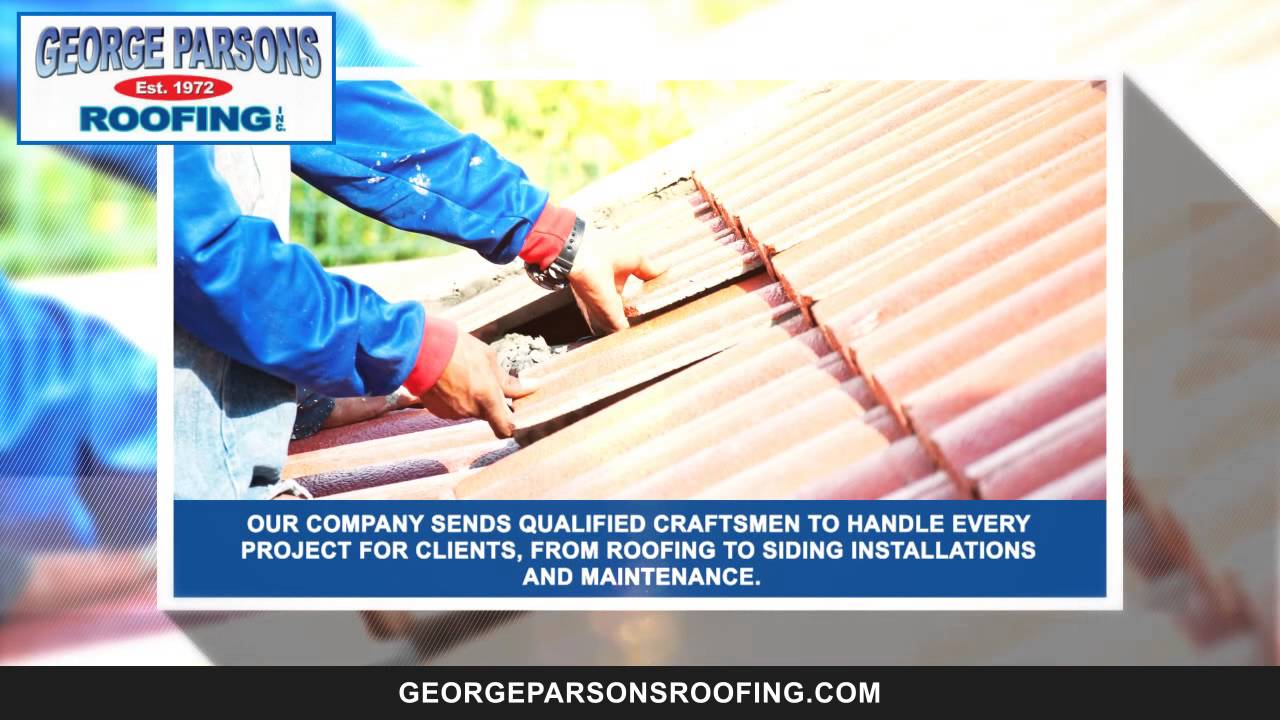 Wonderful George Parsons Roofing| Roofing Services And Home Remodeling Solutions