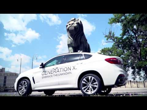 BMW Generation X Roadshow во Скопје