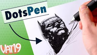 DotsPen Electric Pen = Awesome Art!