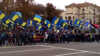 День защитника Украины. 14 октября 2016 г. Киев, Крещатик.