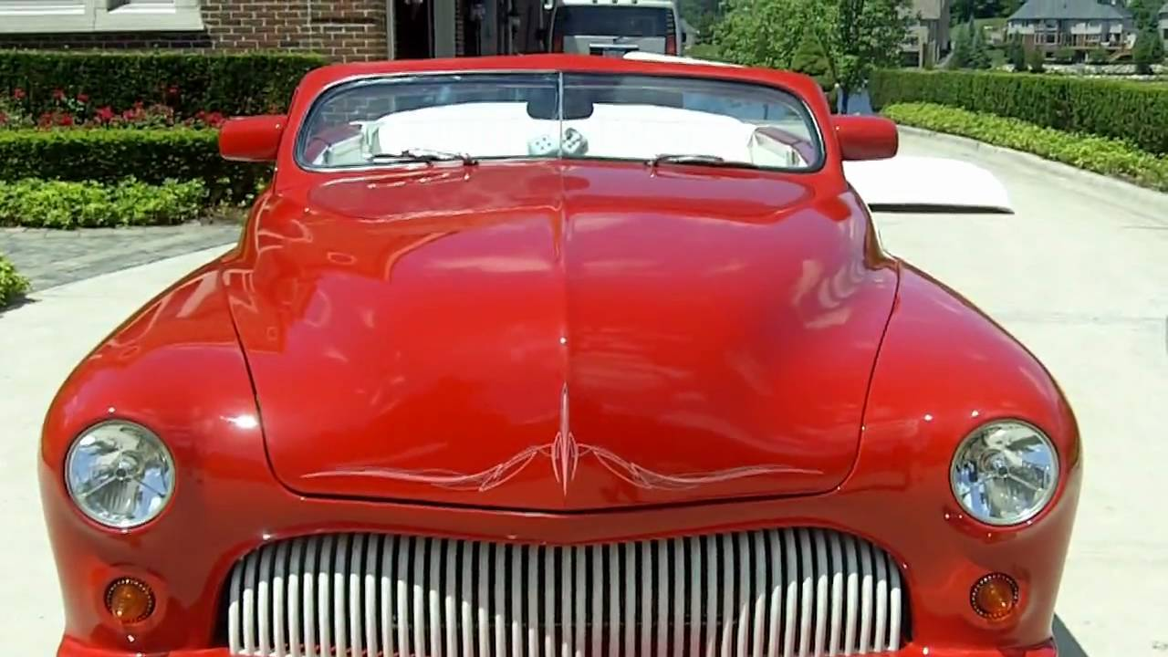1950 Mercury Custom Street Rod Convertible Classic Muscle Car for ...