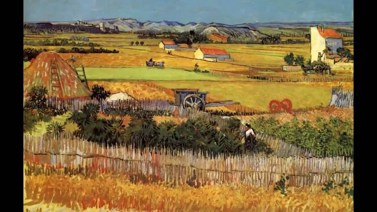 Il Raccolto di Vincent Van Gogh Analizzato da Michelangelo