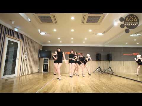 王牌女神AOA - Like a Cat 舞蹈練習版