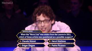 """""""This is nerve-wracking!"""" - Who Wants to be a Millionaire [Season 10]"""