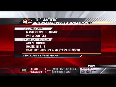 TSN Masters IPhone App