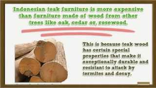 Caring For Indonesian Teak Outdoor Patio Furniture - Tips And Tricks