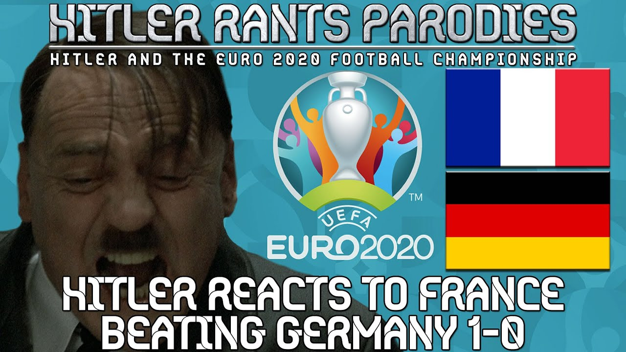 Hitler reacts to France beating Germany 1-0
