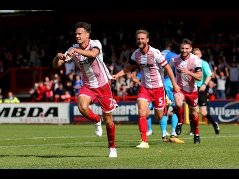 HD HIGHLIGHTS | Stevenage 3-1 Grimsby | League Two 2017/2018