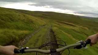 Reeth, Harkerside, Arkengarthdale, GOPRO HD Mountain biking