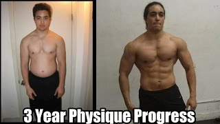 One of OmarIsuf's most viewed videos: OMAR ISUF 3 Year NATURAL Body Transformation (Physique Progress)