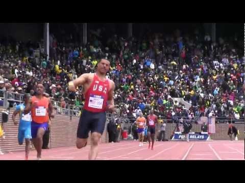 USA Blue 38.47 Ryan Bailey Anchor USA vs The World...