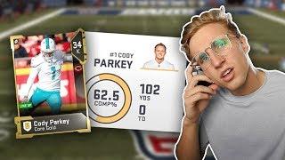 Win... *BUT* Cody Parkey is my QB...