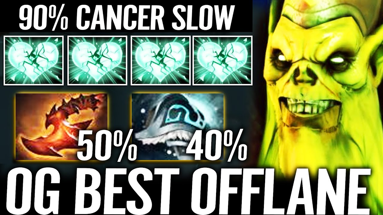 🔥 90% SLOW - OG Best Offlane NEW HERO Shiva + Overwhelming Blink Necrophos WTF Dota 2 Pro by CEB