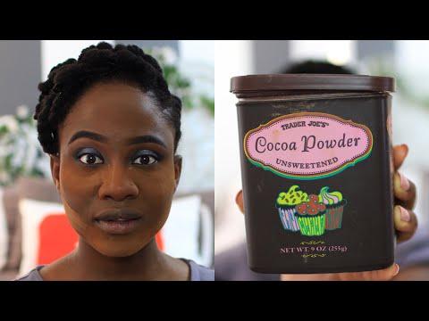 BAKING MY FACE WITH COCOA POWDER?! #WTF FAIL!? | JASMINE ROSE