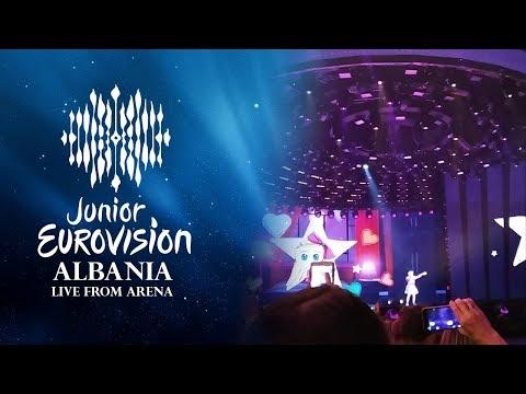 ALBANIA LIVE FROM MINSK ARENA /// JUNIOR EUROVISION 2018