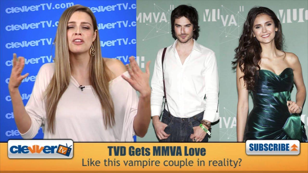 Elena i Damon spotykają się w prawdziwym życiu 2013