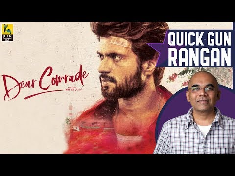Dear Comrade Movie Review By Baradwaj Rangan | Vijay Deverakonda | Rashmika Mandanna | Bharat Kamma