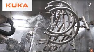 KUKA Washing Robot - Maximum Flexibility in Harsh Environments