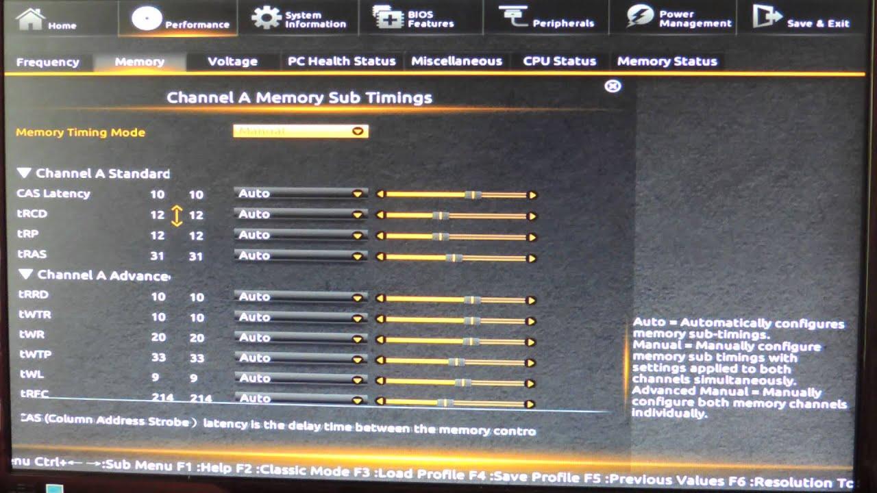 Gigabyte Z87 HD Mode BIOS Guide