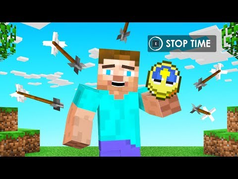 You Can STOP TIME in Minecraft?! (insane)