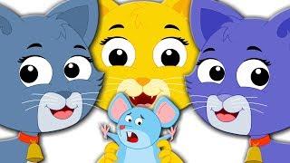 Three Little Kittens Children Nursery Rhymes Playlist For Kids Kids Poem kids tv S03 EP133