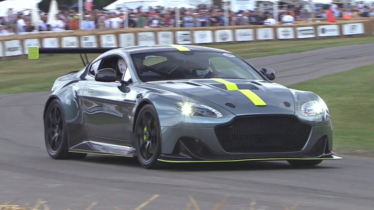 2017 Aston Martin Vantage Amr Pro Brutal Sounds Exhaust Crackles