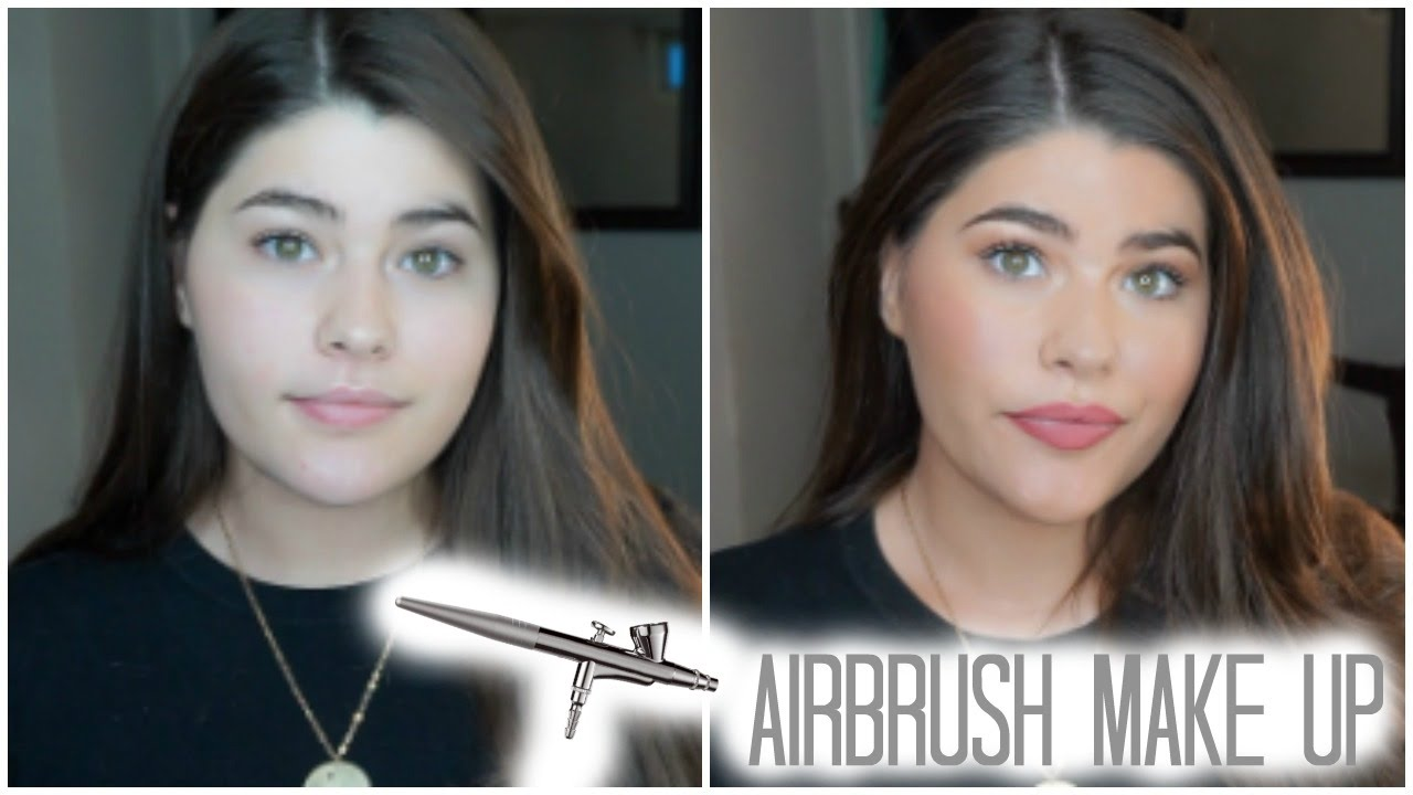 Is Airbrush Make Up Worth It Aeroblend Youtube