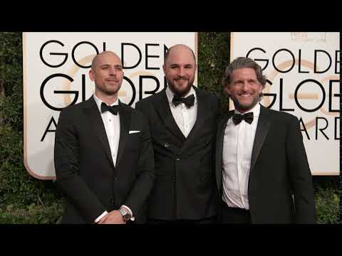 Jordan Horowitz, Fred Berger, and Gary Gilbert  Fashion - Golden Globes 2017 1