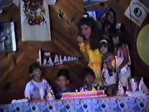 Jennifer Santamaria's 4th Birthday Bash At Shortstops Grill Pt 2 In 1994