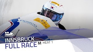 Innsbruck | BMW IBSF World Cup 2019/2020 - 2-Man Bobsleigh Heat 1 | IBSF Official