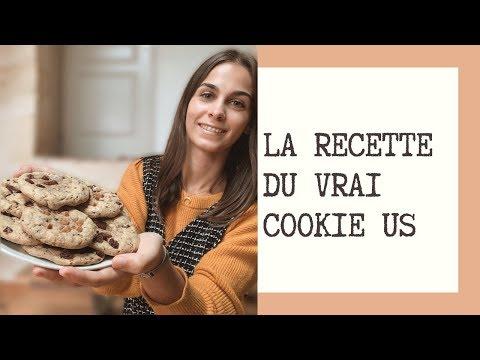 recette- -le-vrai-cookie-américain